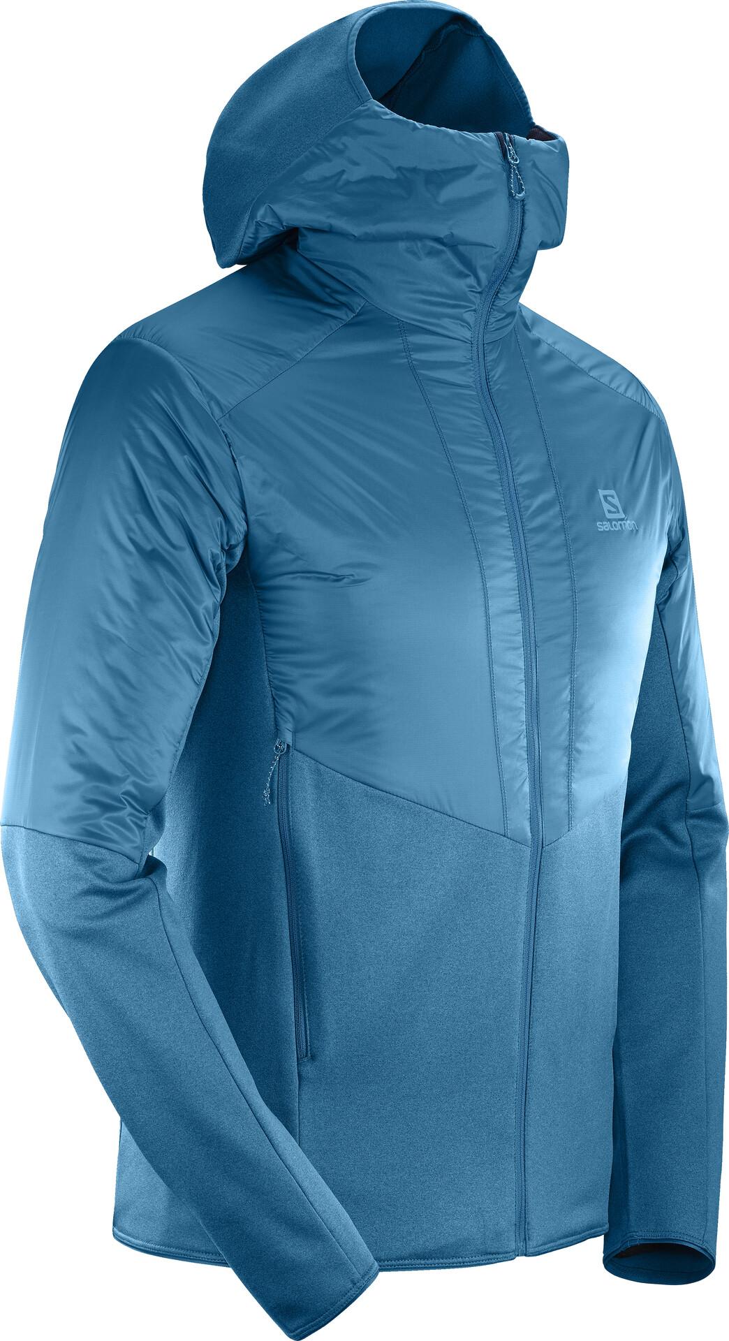 Salomon Outline Warm Jacket Men lyons blue